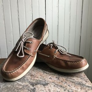 Sperry Top-sider Leather boat shoes 8.5